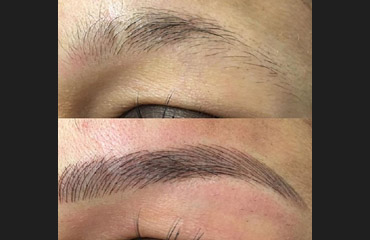 Eye brow extensions