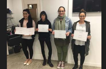happy students completing multiple courses